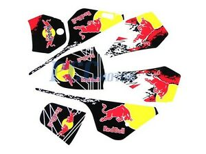 DIRT BIKE GRAPHICS DECAL STICKERS KIT FOR YAMAHA PW PW COYOTE - Bike graphics stickers images
