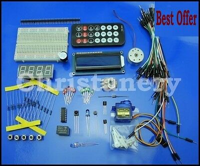 Electronic Project Starter Kit Basic ELECTRONIC PARTS For Electronic Beginner