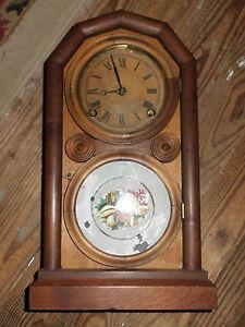 E. Ingraham Co Bristol Conn Mantel Clock Patent June 6 ...