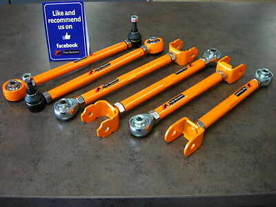 Toyota MR2 MRS Spyder 00-05 Adjustable Rear Suspension Arms / Track Toe Trailing