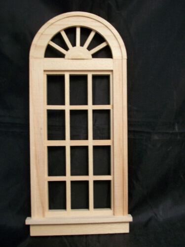 Fashion Doll Window -  Palladian   miniature dollhouse 95014 1/8 scale