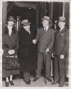 1932-Governor-Franklin-D-Roosevelt-amp-Mayor-Anton-Cermak-AP-News-Photograph