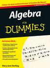 Algebra Fur Dummies by Mary Jane Sterling (Paperback, 2011)