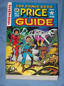 OVERSTREET-COMIC-BOOK-PRICE-GUIDE-9-1979-SC-E-C-TRIBUTE-WOOD-COVER-VERY-FINE
