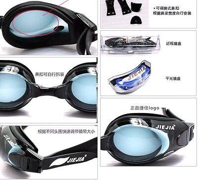 Fashion New Anti-fog UV Silicon Training Swimming Goggles Swim Glasses Unisex