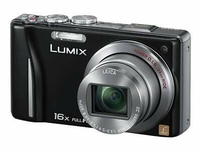 NEW PANASONIC LUMIX TZ20 14.1MP HD DIGITAL CAMERA