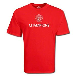 MANCHESTER-UNITED-EPL-19-WINNERS-SOCCER-Shirt-RED