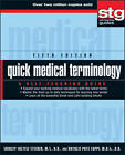 Quick Medical Terminology: A Self-Teaching Guide by Shirley Soltesz Steiner, Natalie Pate Capps (Paperback, 2011)