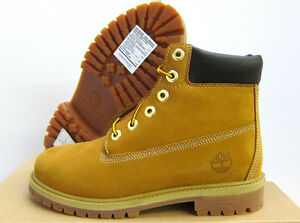 NEW-BOYS-TIMBERLAND-6-034-WATERPROOF-PREMIUM-WHEAT-BOOTS-12909-YOUTH