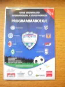06082010 In Holland Be Quick International Youth U19 Tournament Brochure  In - Birmingham, United Kingdom - 06082010 In Holland Be Quick International Youth U19 Tournament Brochure  In - Birmingham, United Kingdom