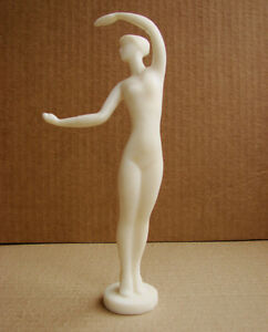 Russian Soviet sculpture statue girl woman gymnast