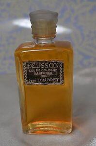 VINTAGE-ECUSSON-Eau-de-Cologne-Parfumee-JEAN-DALBRET-3-7-OZ-RARE-BOTTLE