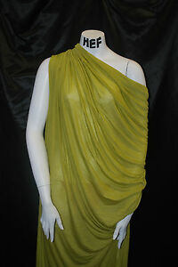 Micro-Modal100-Knit-Fabric-Jersey-Ecofriendly-Super-Soft-and-Silky-Chartreuse