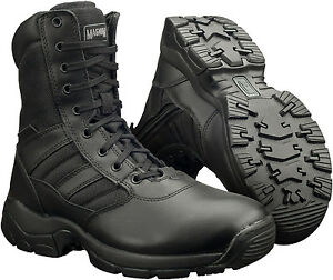 New-Mens-Magnum-Panther-8-0-Side-Zip-Tactical-Leather-Combat-Boots-Size-4-15-UK