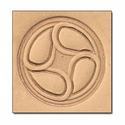 Wheel 3D Stamp 8652-00 by Tandy Leather Craftool