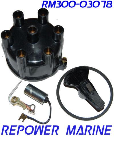 Tune Up Kit, Volvo Penta, Mercruiser, OMC V6 Distributor Cap 841926 Prestolite