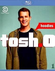 Tosh-0-Vol-1-Hoodies-Blu-ray-Disc-2012-Tosh-Tosh-o-Tosh-Brand-New-Sealed
