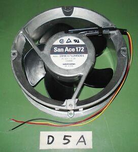 SanyoDenki-San-Ace-172-Cooling-Fan-Model-109E1712H5D01-DC-12V-1-2A-3-wire