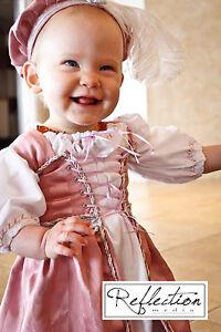 Childrens-Flower-Girls-Medieval-Wedding-Boleyn-Renaissance-Dress-gown-costume
