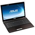 "Asus K53U-SX072V 39.6 cm (15.6"") LED Laptop - AMD E-350 1.60 GHz - 1366 x 768 WXGA Display - 2 GB RAM - 320 GB HDD - DVD-Writer - AMD Radeon HD 6310 Graphics Card - Webcam - Genuine Windows 7 Home Premium - HDMI"