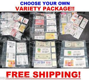 100-EXTREME-COUPON-SLEEVES-Binder-Holder-Organizer-PAGES-SET-MAKE-YOUR-OWN