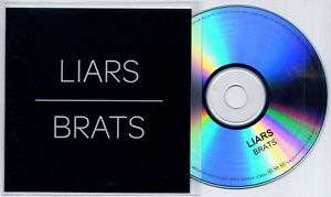 LIARS Brats UK 1trk promo test CD  press release Mute - WE SHIP WORLDWIDE, United Kingdom - Returns accepted Most purchases from business sellers are protected by the Consumer Contract Regulations 2013 which give you the right to cancel the purchase within 14 days after the day you receive the item. Find out m - WE SHIP WORLDWIDE, United Kingdom