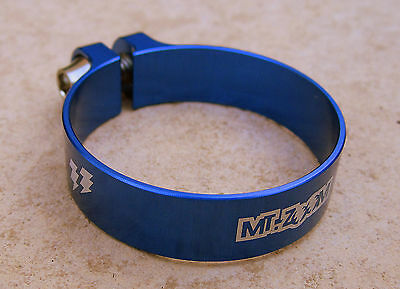 MT ZOOM Ultralight 31.8 mm BLUE Seat Post Clamp 5.5g! (31.8mm)