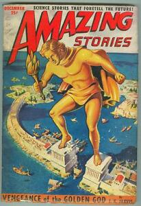 Amazing-Stories-December-1950-VG-Vengeance-of-the-Golden-God