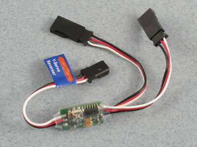 Logic Rc Y-Lead Servo Reverser Ideal For Flaps P-FS-SRY Reversing Y Lead