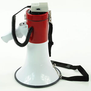 50-Watt-Loud-Megaphone-W-Siren-Bullhorn-Speaker-Outdoor-Portable-Amplifier-50-w