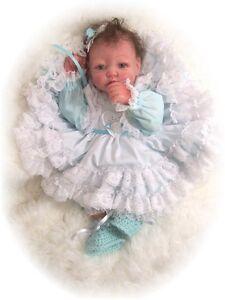 "Reborn Doll Kit Vinyl Silicone Like 17"" Missy 3/4 Limbs"