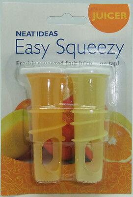 NEAT IDEAS Easy Squeezy juicer tap orange & lemon