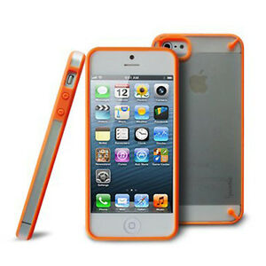 Poetic-TM-Atmosphere-Case-for-iPhone-5-5th-Generation-5G-Clear-Orange-AT-T-NEW