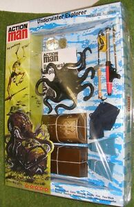 VINTAGE-ACTION-MAN-40th-CARDED-UNDERWATER-EXPLORER-TREASURE-HUNTER-1-6-SCALE