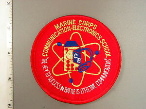 Early USMC Marine Corps Communication-Electronics School patch ...