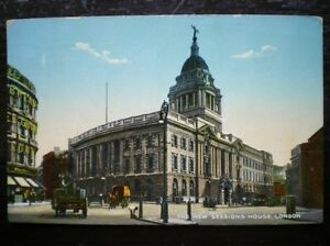 POSTCARD RP LONDON THE NEW SESSIONS HOUSE 1920039S - Tadley, United Kingdom - Full Refund less postage if not 100% satified Most purchases from business sellers are protected by the Consumer Contract Regulations 2013 which give you the right to cancel the purchase within 14 days after the day you receive th - Tadley, United Kingdom
