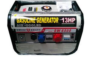 Swiss-Kraft-SW6500-2-6KVA-Petrol-Generator-2500W-BNIB