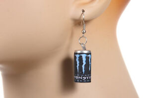 Monster-Dangle-Earrings-Red-Bull-Low-Carb-Blue-Label
