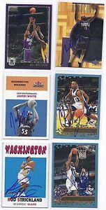 Jahidi-White-Signed-Basketball-Card-Washington-2001-Topps