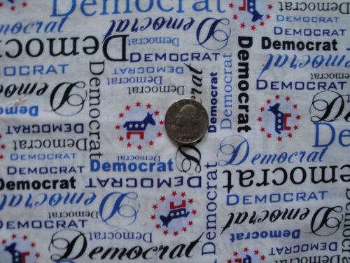 Democrat Democratic Party Hillary Clinton Sanders Over Collar Pet Dog Bandana