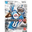 Madden NFL 13 (Nintendo Wii, 2012)