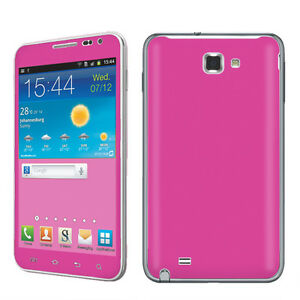 USA-Hot-Pink-Vinyl-Case-Decal-Cover-Skin-Sticker-Samsung-Galaxy-Note-i717-AT-T