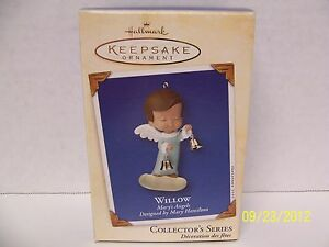 Hallmark-Keepsake-Ornament-2002-Marys-Angels-Willow-15th-in-Series-NIB