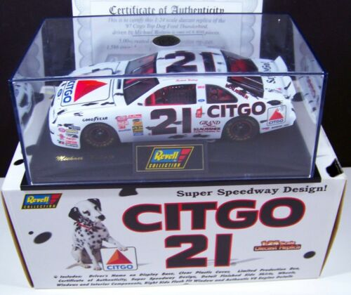 Revell Collection 1/24 Diecast Car CITGO TOP DOG! # 21 MICHAEL WALTRIP 3895 Ford