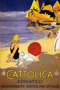 Vintage-Italian-POSTER-Stylish-Graphics-Adriatico-Italy-Room-Decor-709