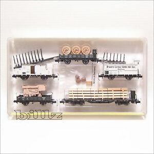 TRIX-MINITRIX-N-15143-Bavarian-K-Bay-Sts-B-Freight-Cars
