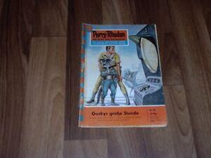 PERRY-RHODAN-Nr-89-1-Auflage-1963-GUCKYs-grosse-STUNDE-Gucky-Atlan-Bully