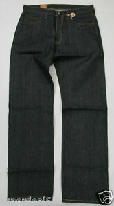 Levis-501-Shrink-To-Fit-045018736-34X36-100-Organic-Green-Selvedge-Selvage