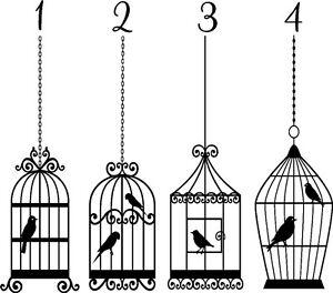 Bird-Cage-Vinyl-Sticker-Wall-Art-Bedroom-Decal