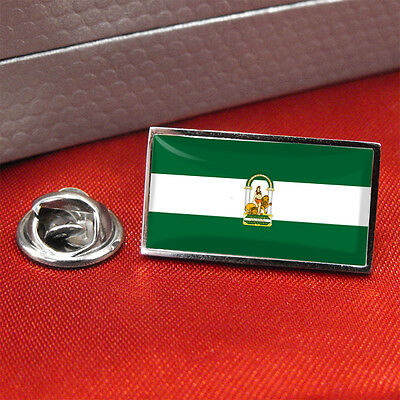 Andalucia Andalusia Flag Lapel Pin Badge/Tie Pin